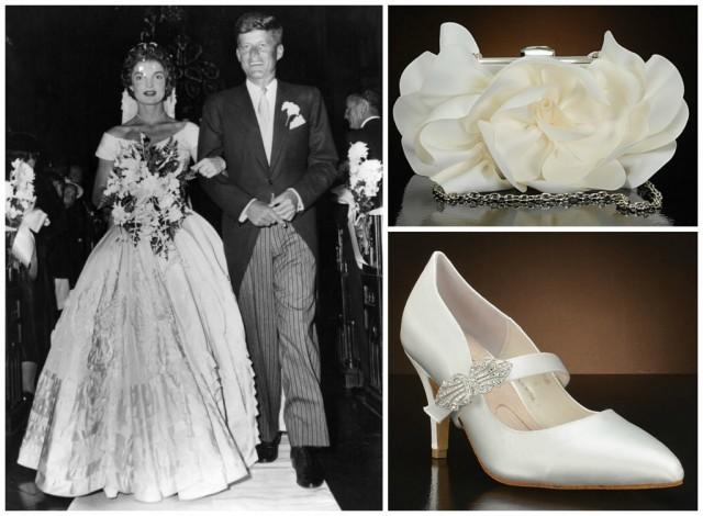 10 Bridal Accessories Inspired By Jackie Kennedy Wedding
