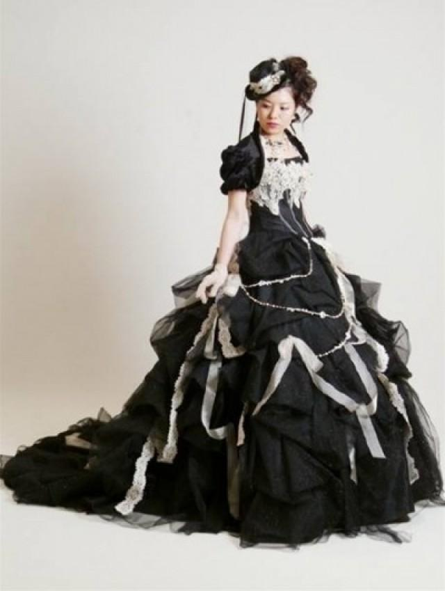 Gothic Black Wedding Dresses For  : Gothic wedding dresses weddbook