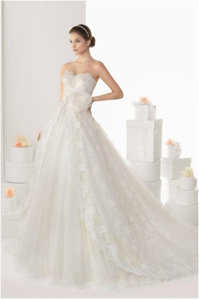 Romantic Ball Gown Rosa Clará Wedding Dresses - Weddbook