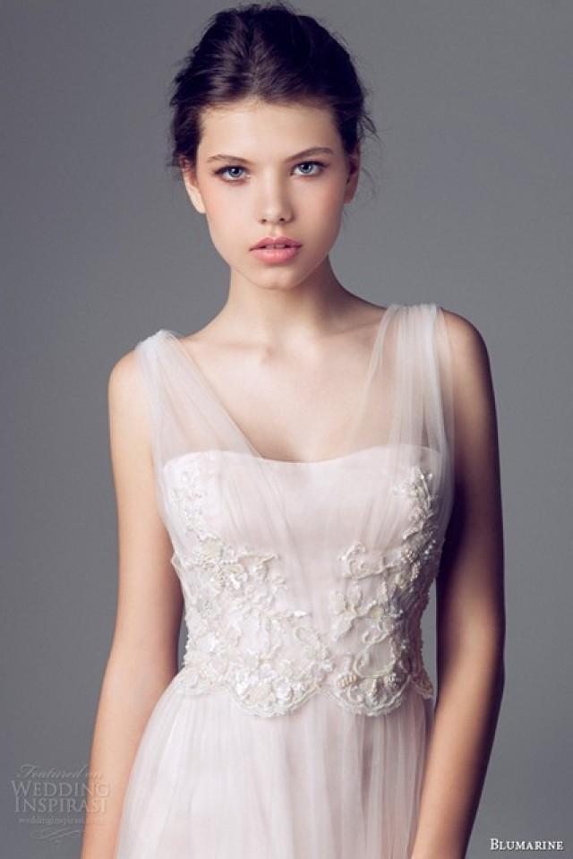 blumarine bridal dress 2014 weddbook. Black Bedroom Furniture Sets. Home Design Ideas