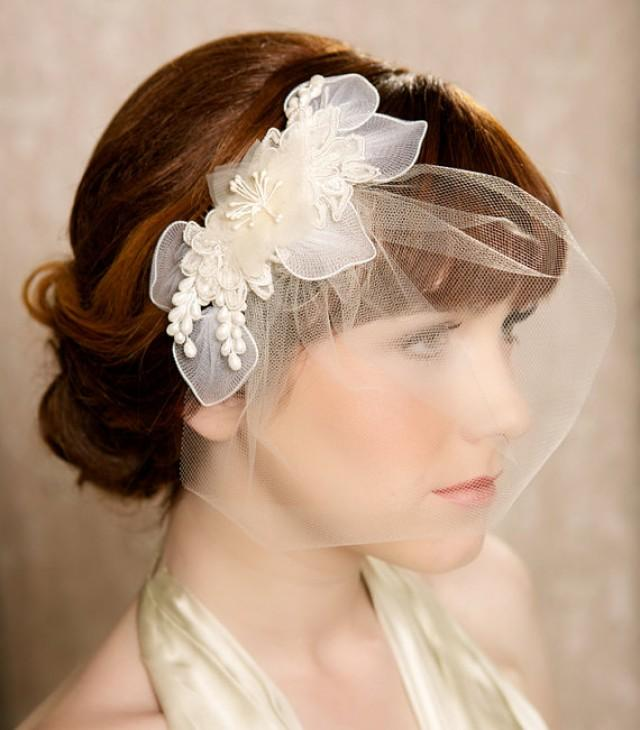 Vintage Wedding Hairstyles With Birdcage Veil: Glam Birdcage Veils For Every Bride