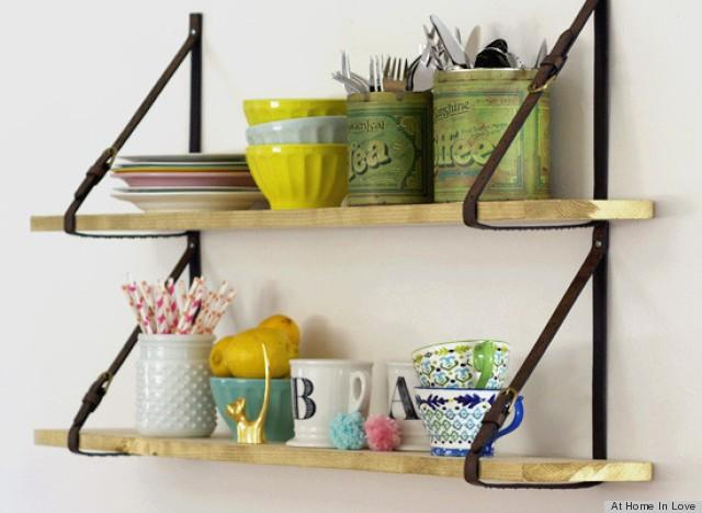 Can You Guess What's Holding Up These Stylish Shelves? - Weddbook