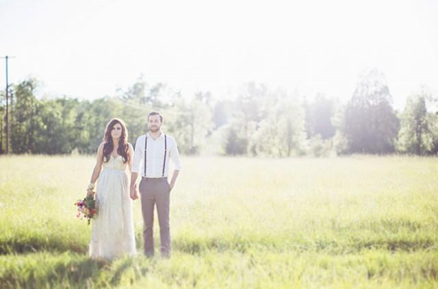 Boho glam wedding inspiration weddbook for Magasins de robe de mariage portland oregon