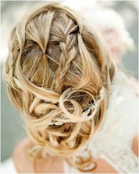 romantic low bun wedding hairstyles we heart Romantic wedding hairstyles 2014