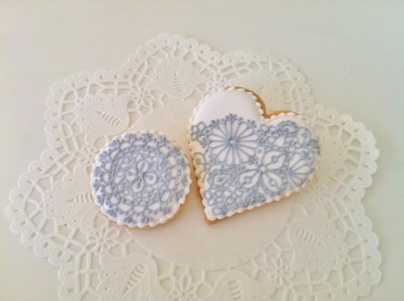 Lace Wedding - Lace Cookies #1929973 - Weddbook