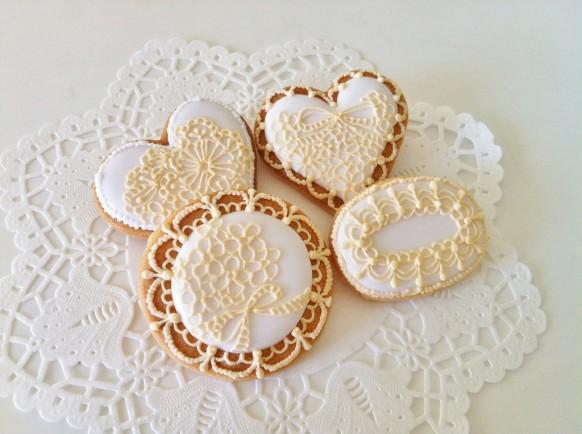 Lace Wedding - Lace Cookies #1929975 - Weddbook
