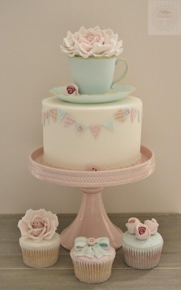 Cup And Saucer Cake Ideas
