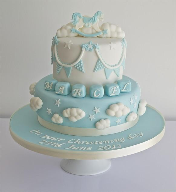 Wedding Cakes - Christening Cake #1930707 - Weddbook