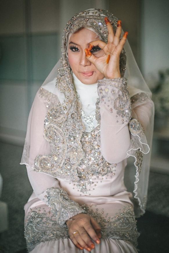 Muslim Wedding Dress Code For Bride : Photo beautiful malay bride weddbook
