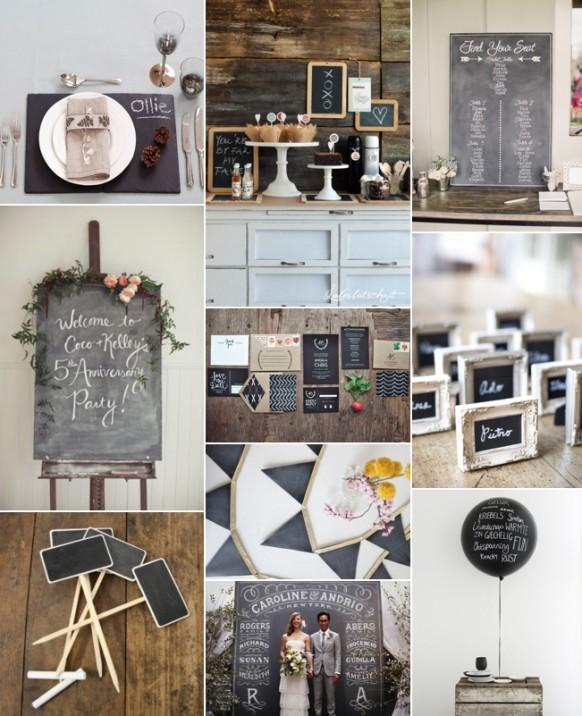 Back to school chalkboard wedding ideas and inspiration weddbook