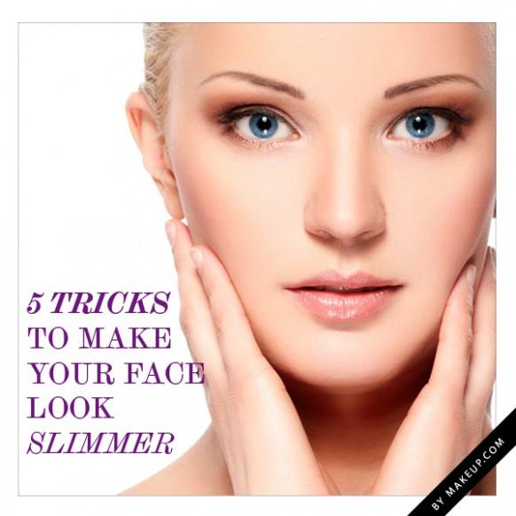 how to make your face appear slimmer with makeup