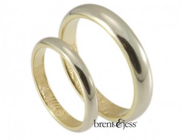 Partner Love Brent Amp Jess Have Their Fingers On The Pulse Of Wedding Ring Customization