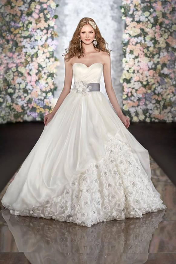 Martina liana wedding dresses spring 2014 collection for Dresses for spring wedding