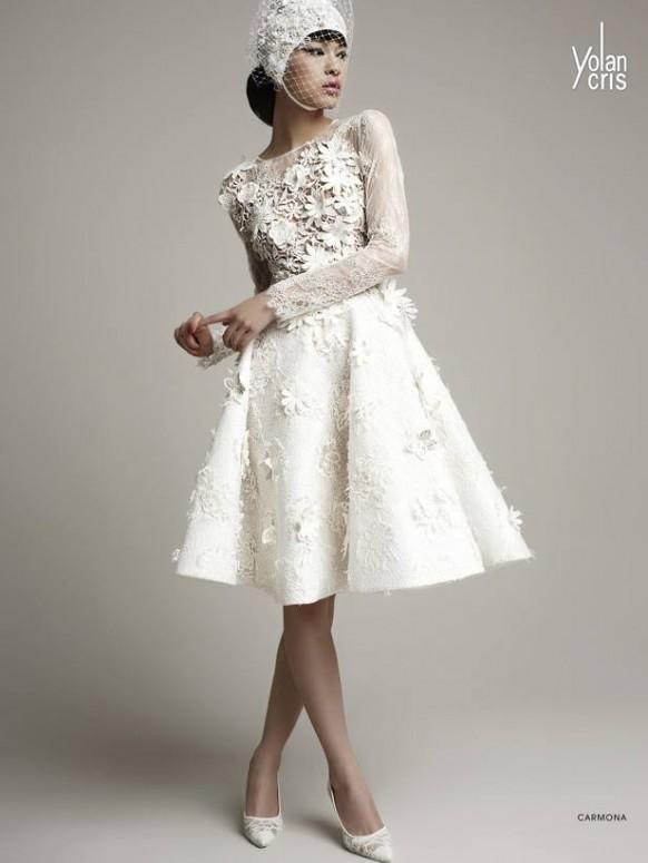 Sophisticated YolanCris Wedding Dresses 2014 Collection - Weddbook