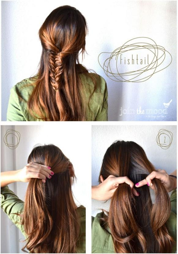 how to make fishtail hairstyle