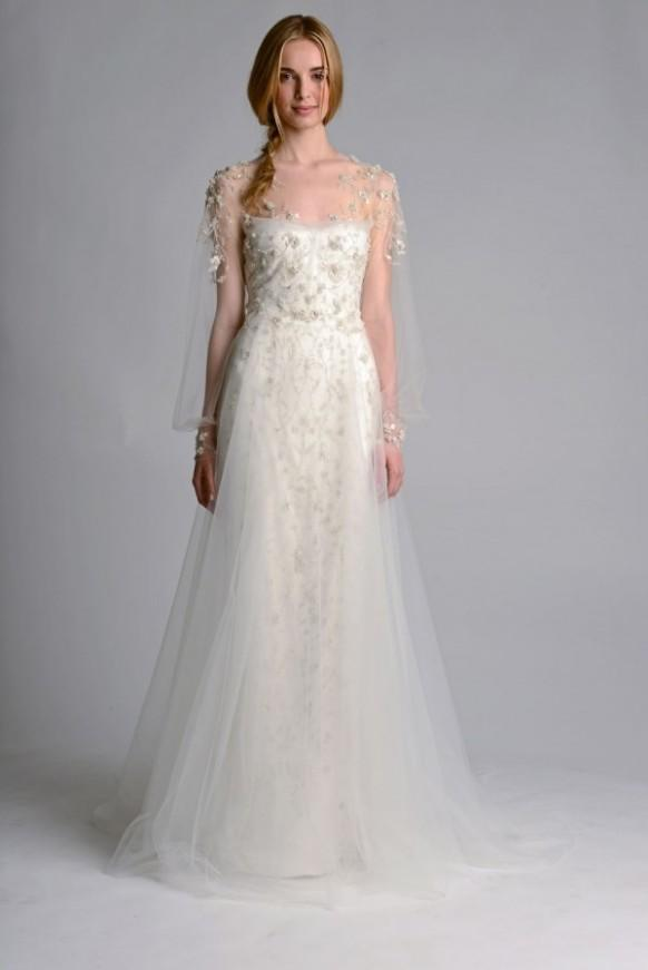 Fall 2014 Wedding Dresses Marchesa Fall Wedding