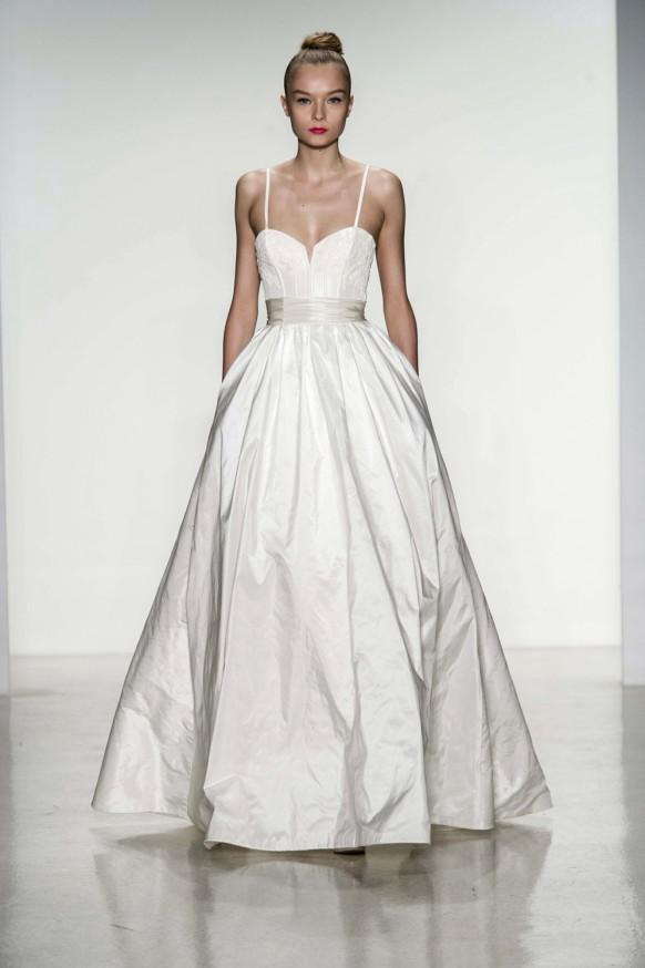Amsale fall 2014 wedding dresses weddbook for Amsale aberra wedding dresses