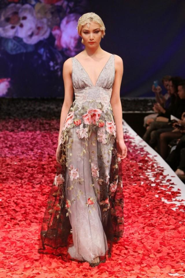 Claire pettibone fall 2014 wedding dresses weddbook for Wedding dress claire pettibone
