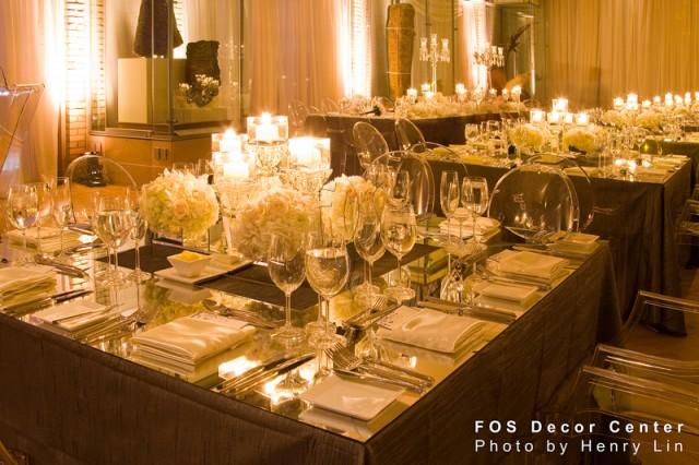 Get inspired creative wedding reception ideas from fos for Decoration get