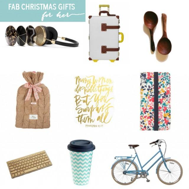 Christmas gifts for her friday s fab 5 weddbook for Christmas gift ideas for her