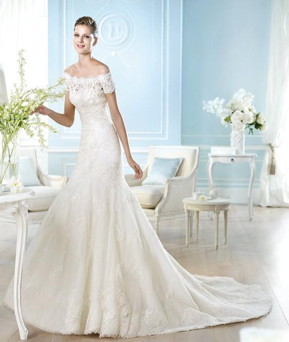 Trend Alert: St. Patrick Wedding Dresses 2014 - Weddbook