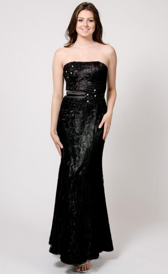 Lace evening gown military ballgown pageant wedding formal wear