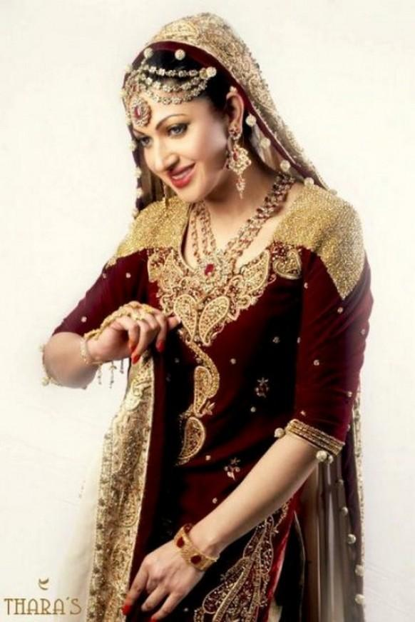 Thara\'s Exclusive Beautiful Wedding Dress Collection - Weddbook