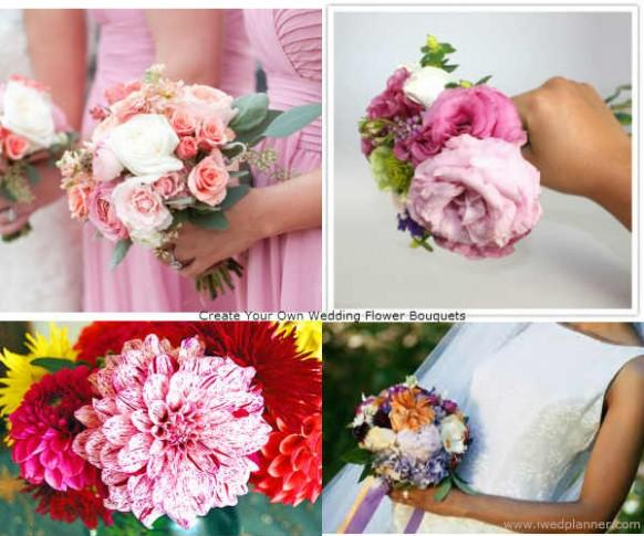 how to save on your wedding budget create your own wedding bouquets weddbook. Black Bedroom Furniture Sets. Home Design Ideas