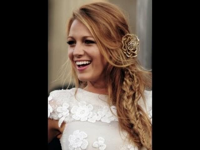 How To Blake Livelys Hair From The Green Lantern Premiere besides At Home Hair Treatment moreover Diy Wedding Hairstyles moreover 23 also The Gilded Age Fw 2016 Claire Pettibone. on oscar blandi hair wedding