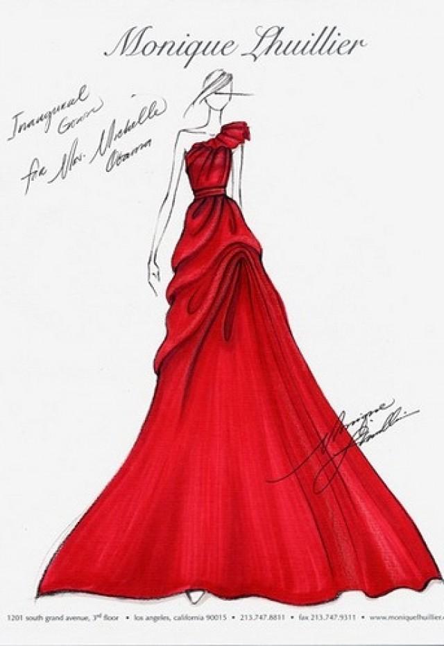 Дизайн платье фото