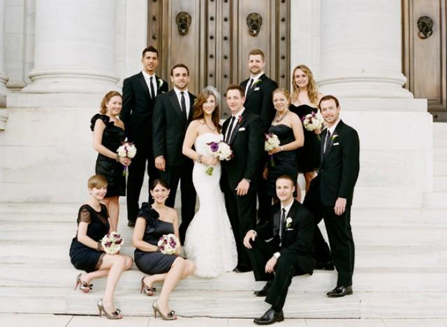 All Black Bridal Party Wedding Ideas Is No Longer Taboo For Weddings