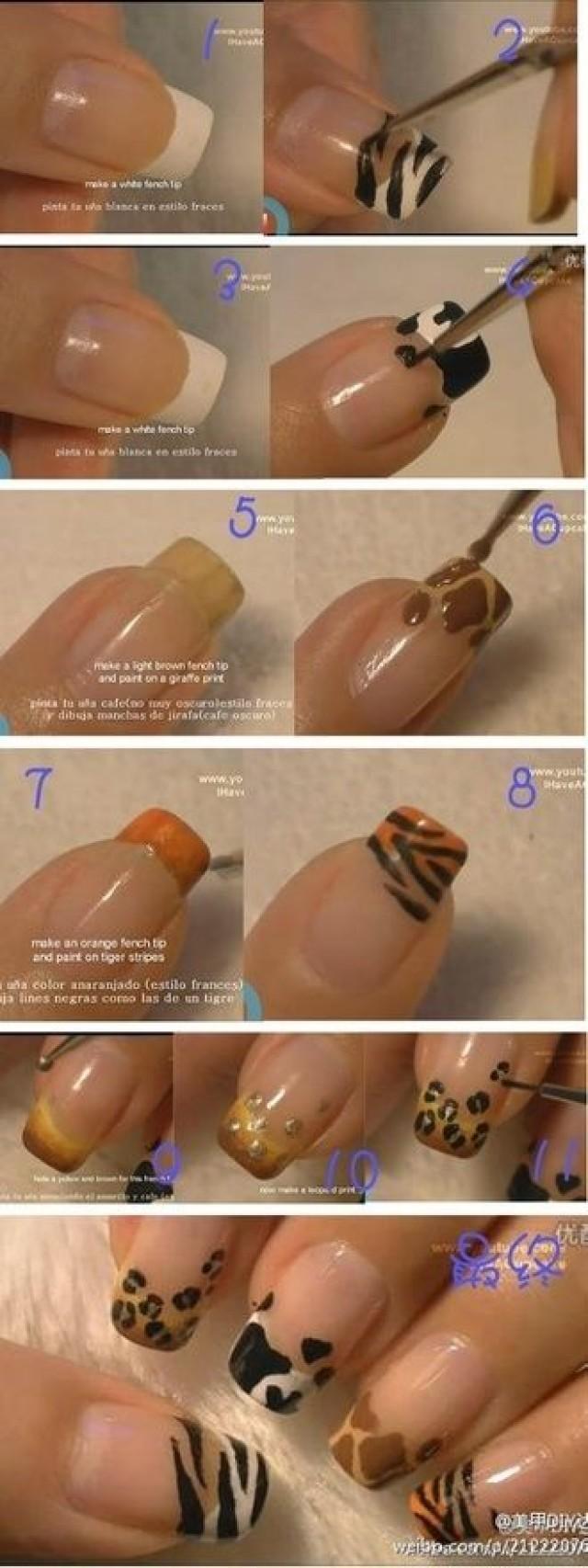Как сделать коррекцию ногтей в домашних условиях пошагово фото
