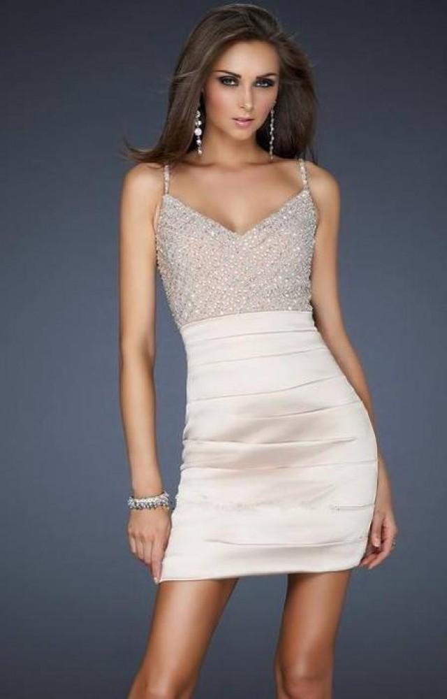 Short fitted prom dress 2012446 weddbook for Short fitted wedding dresses