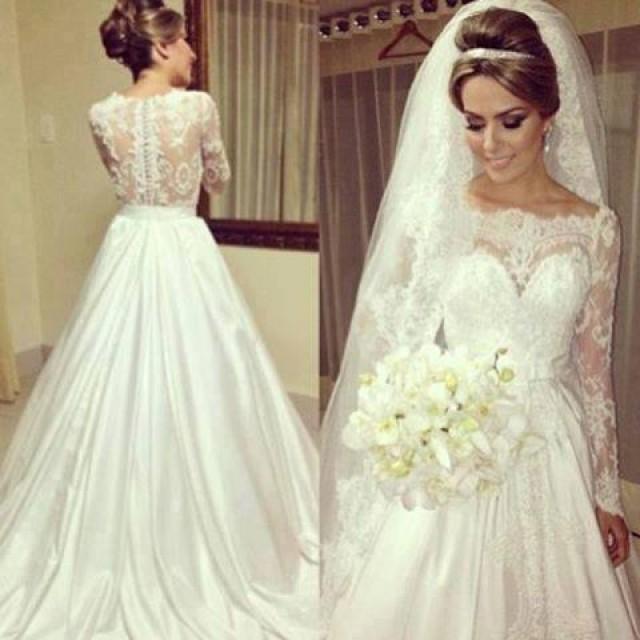 Vintage Wedding - Brautkleid Spitze Vintage #2015801 - Weddbook