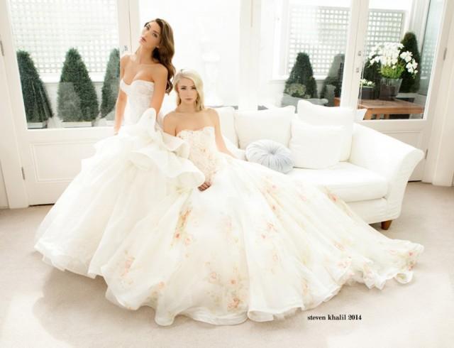 Steven Khalil Bridal Spring 2014 - Weddbook