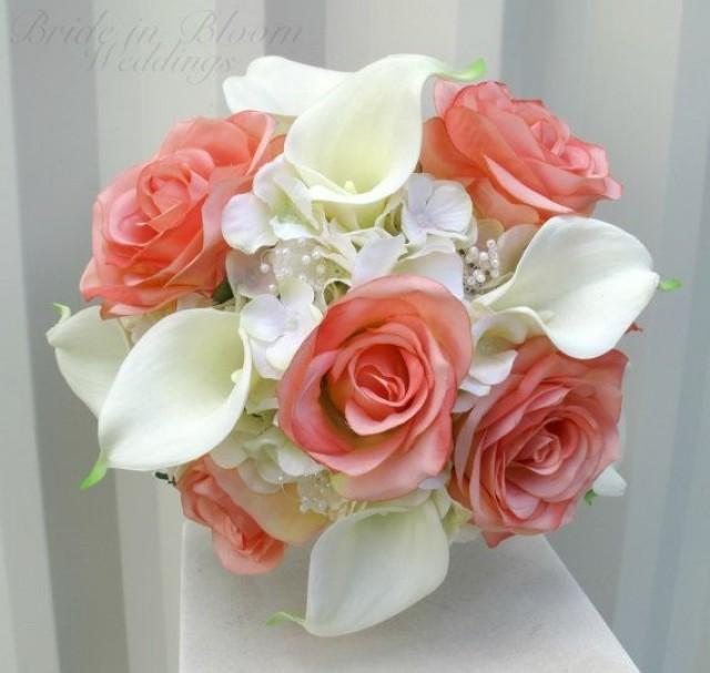 Wedding Flowers Roses And Lilies : Bouquet flower wedding bouquets weddbook