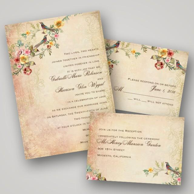 Vintage Wedding Invite: {Sponsored Love} Invitations By Dawn Inspired New Vintage