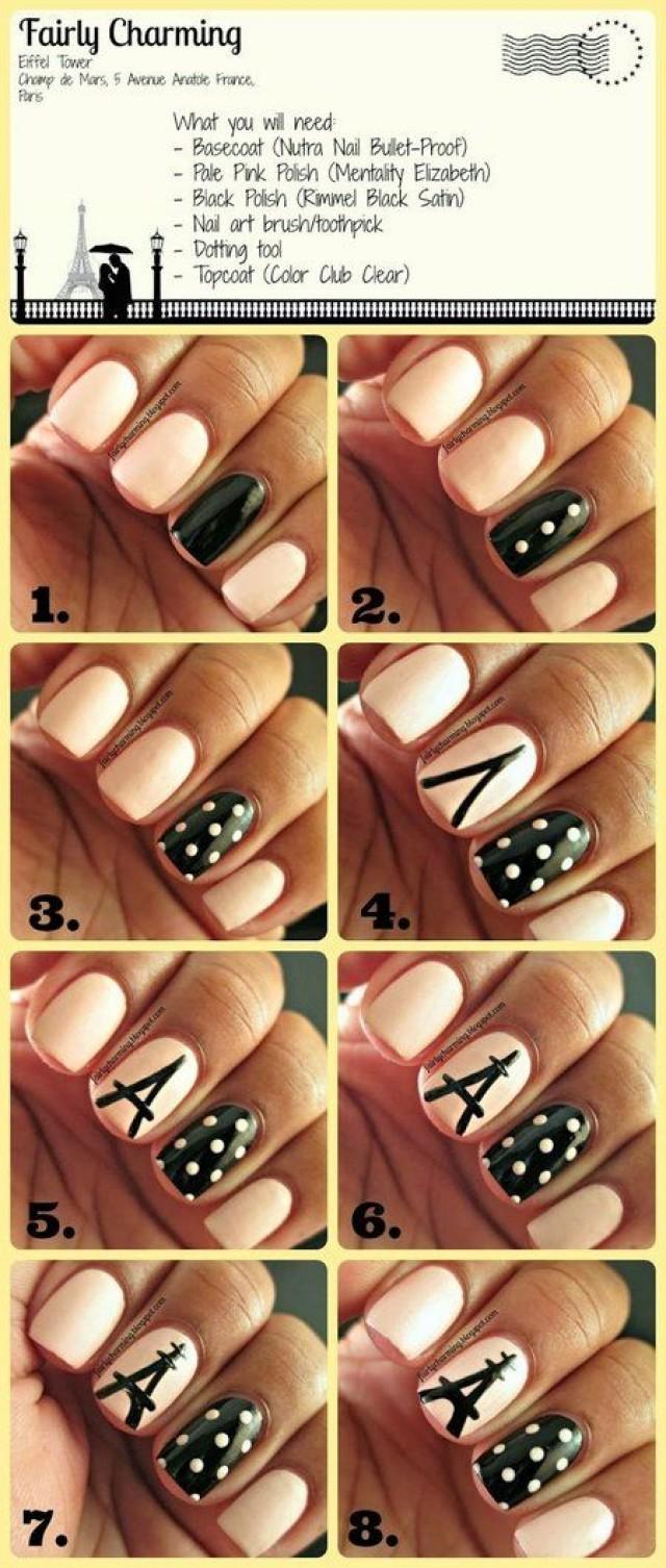 Как красиво и просто сделать красивые рисунки на ногтях