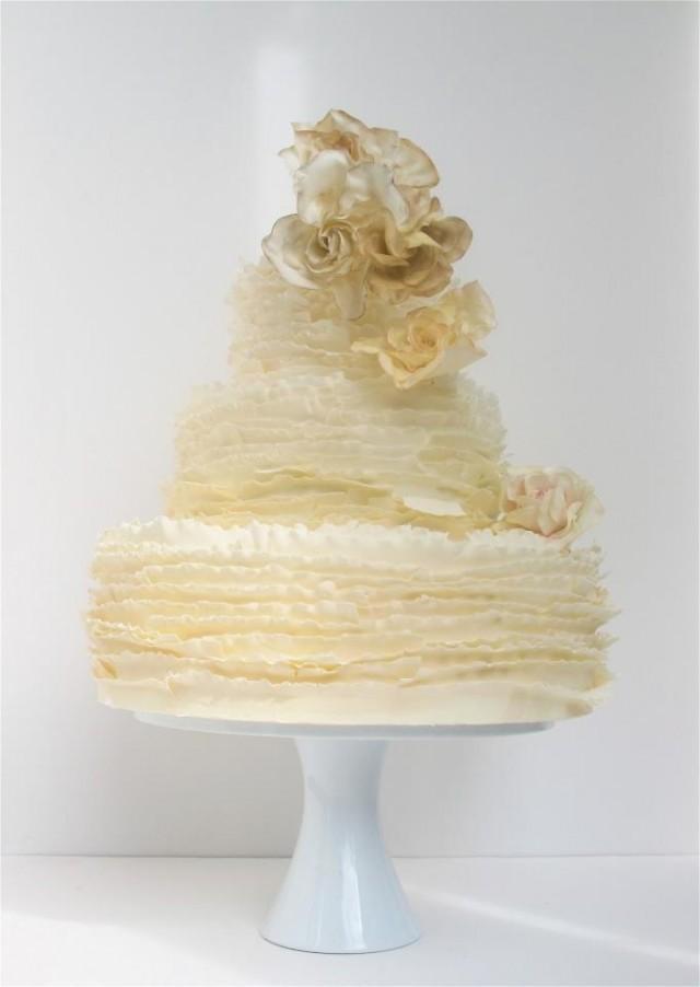 fondant cake maggie austin wedding cake 2028724 weddbook. Black Bedroom Furniture Sets. Home Design Ideas
