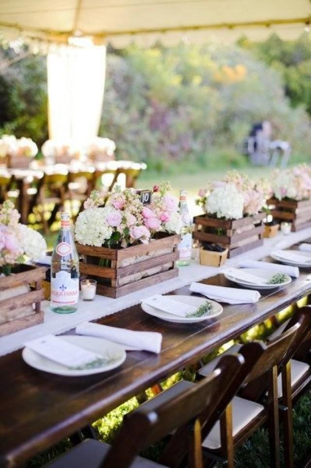 Country Wedding Rustic Centerpiece Ideas