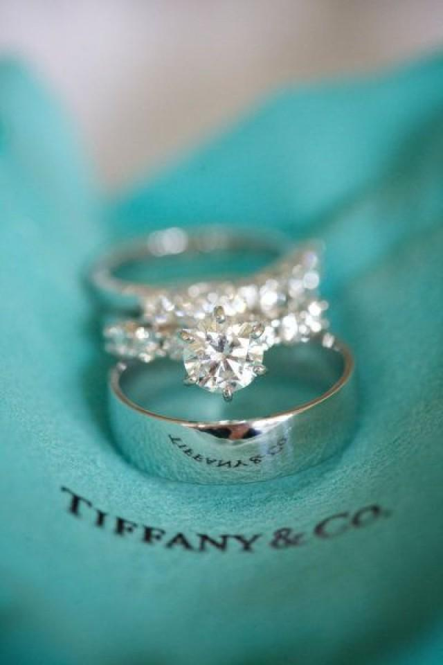 Blue wedding tiffany and co 2029555 weddbook for Tiffany weddings rings