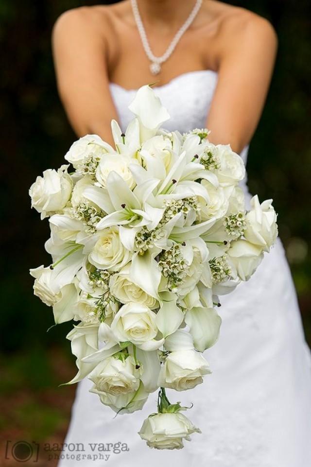 classic wedding classic white cascade 2030472 weddbook. Black Bedroom Furniture Sets. Home Design Ideas