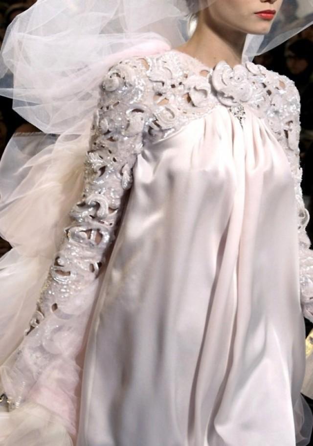 ivory wedding chanel haute couture 2030725 weddbook