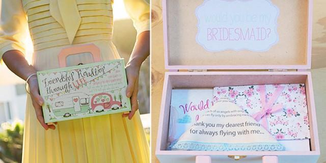 7 clever ways to propose to your bridesmaids weddbook