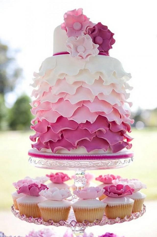 Birthday Images With Beautiful Cake : Wedding Cakes - Beautiful #2031255 - Weddbook