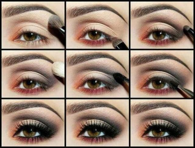 Мастер класс красиво накрасить глаза