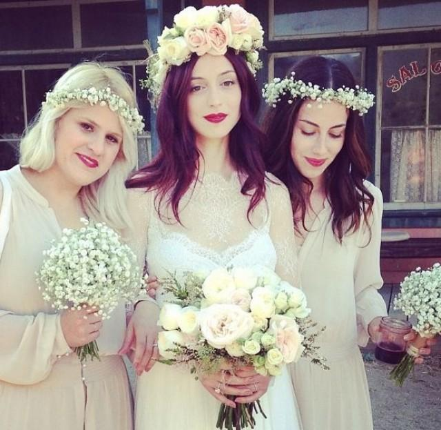wedding photo - Wedding Hair Flower Crown
