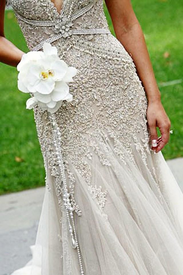 Unique wedding bouquet handles so vintage 2033007 for Pinterest wedding dress vintage