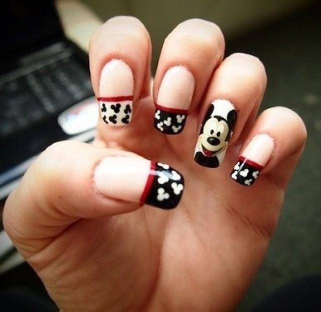 Nail - Mickey Mouse Nails #2035097 - Weddbook