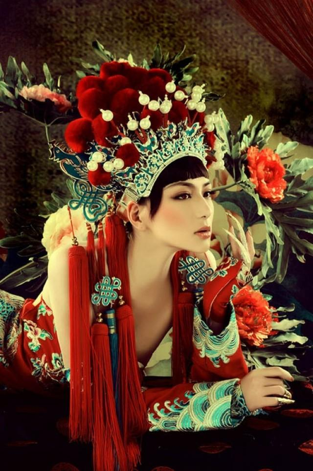 Chinese Wedding - Chinese Opera Headdress #2035355 - Weddbook